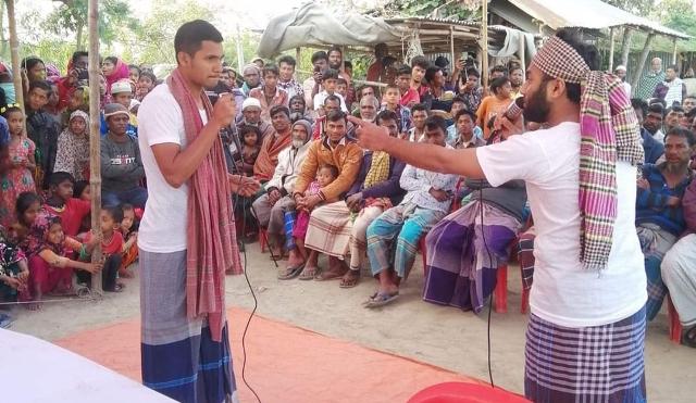 ভোলায় জুয়া বাল্যবিবাহ প্রতিরোধে প্রামাণ্যচিত্র প্রদর্শনী ও সচেতনতা সভা অনুষ্ঠিত