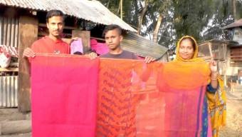 পটুয়াখালীতে জামদানি শাড়ির কারখানা!