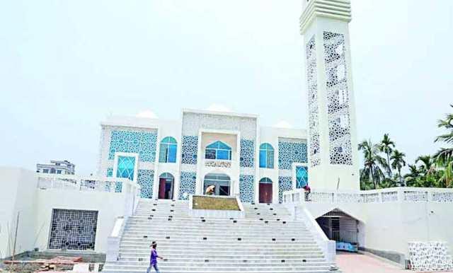 ভোলায় মডেল মসজিদ ও ইসলামিক সাংস্কৃতিক কেন্দ্র উদ্বোধন