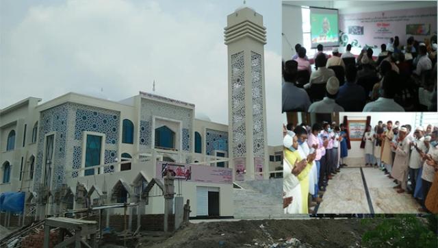 জামালপুরে দুইটি মডেল মসজিদ উদ্বোধন করলেন প্রধানমন্ত্রী