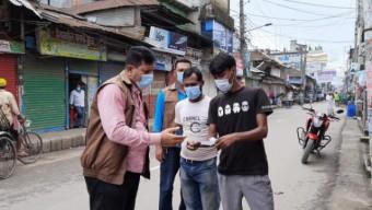 ভোলায় স্বাস্থ্যবিধি না মানায় ৯৮ জনকে জরিমানা