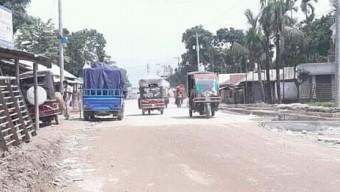 কুড়িগ্রামে জাতীয় মহাসড়ক নির্মাণ কাজ সফলভাবে বাস্তবায়ন