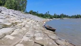 কুড়িগ্রামে ভাঙন রোধে কাজ করছে পানি উন্নয়ন বোর্ড